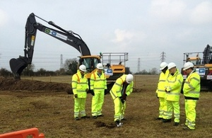 A5-M1 Link Road starts construction