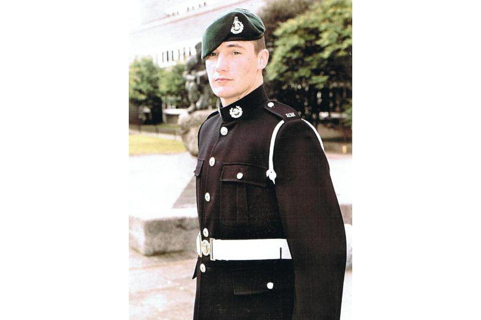 Corporal Liam 'Elmsy' Elms, Royal Marines (All rights reserved.)