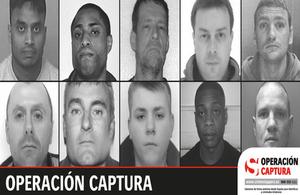 los 10 fugitivos