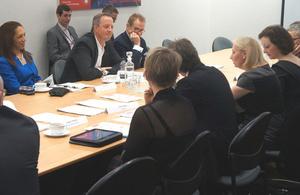 Tourism Minister Helen Grant and Skills Minister Nick Boles host Tourism Council Meeting