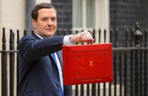 Chancellor with his red box