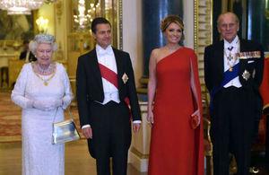 Foto oficial del Banquete de Estado