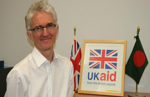 Mark Lowcock, UK Permanent Secretary for the Department for International Development (DFID),