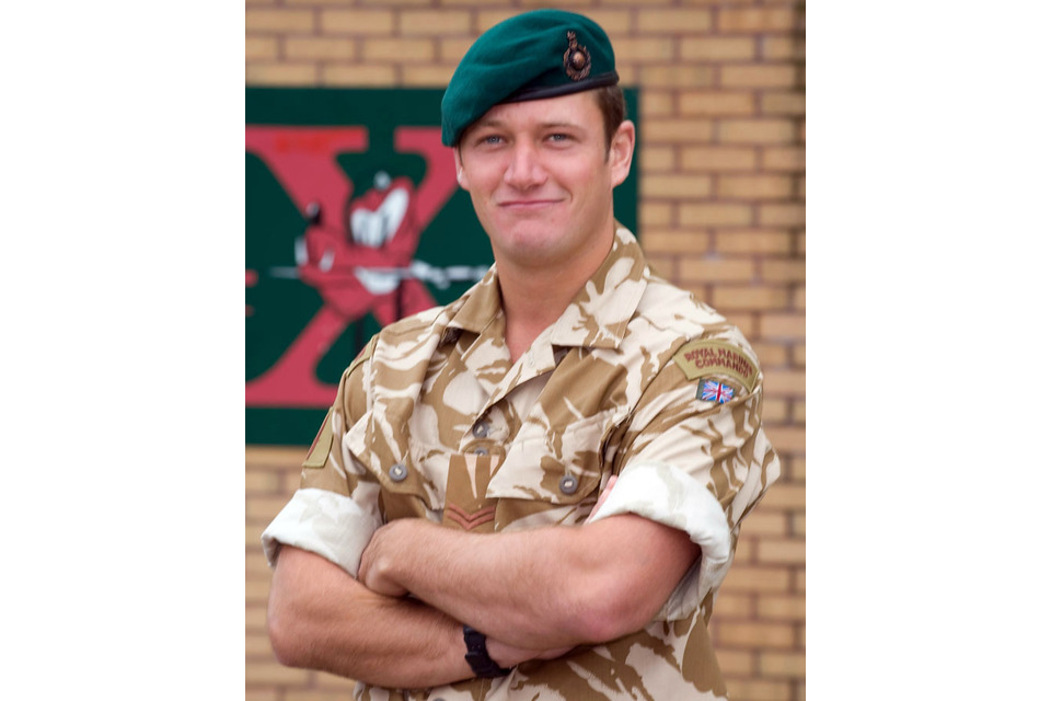 Corporal Marc Birch (All rights reserved.)