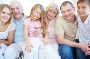 Image of a multi-generational family