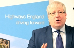 Transport Secretary opens Highways England