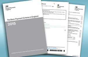 The Basic Payment Scheme guidance for 2015 and the RLE1 form