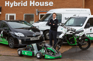 Image of Mark Roberts of Ashwoods Automotive Ltd, one of the winning companies
