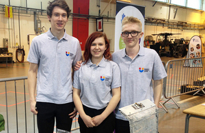 Amy Colley and team members from UTC Norfolk