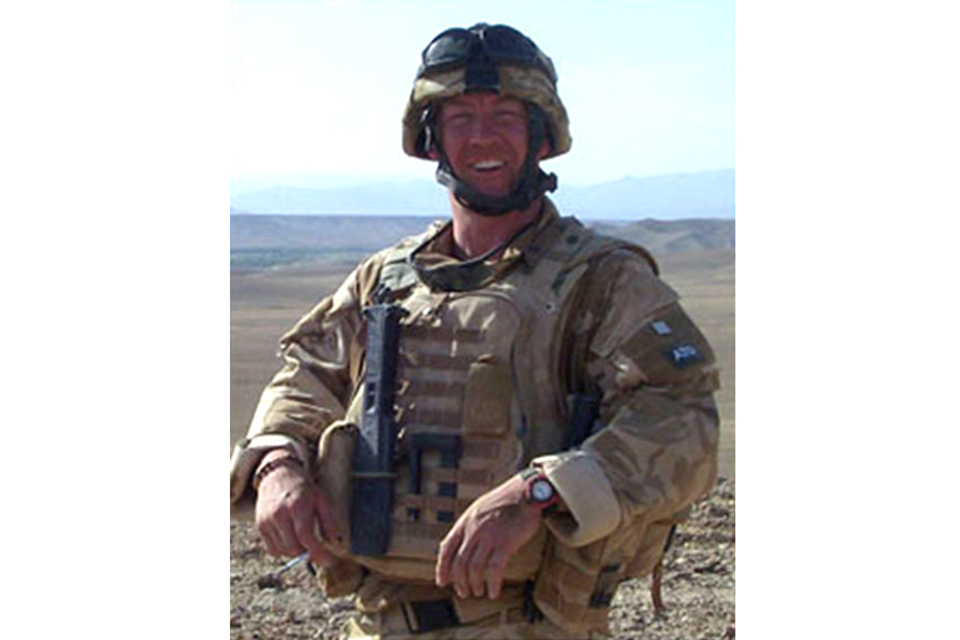 Warrant Officer Class 2 Gary 'Gaz' O'Donnell (All rights reserved.)