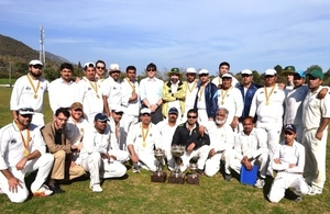 The British High Commission played a friendly cricket match with Sialkot Chamber of Commerce and Industries, highlighting the sports connections between Pakistan and the UK.