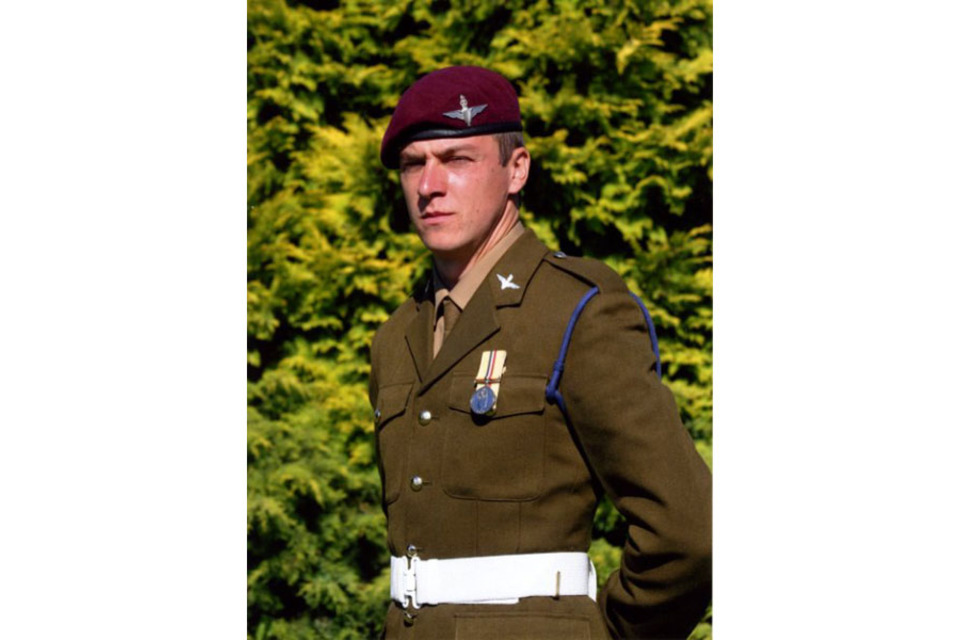 Private Peter Joe Cowton from 2nd Battalion The Parachute Regiment  (All rights reserved.)