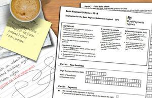 Basic Payment Scheme form 2015