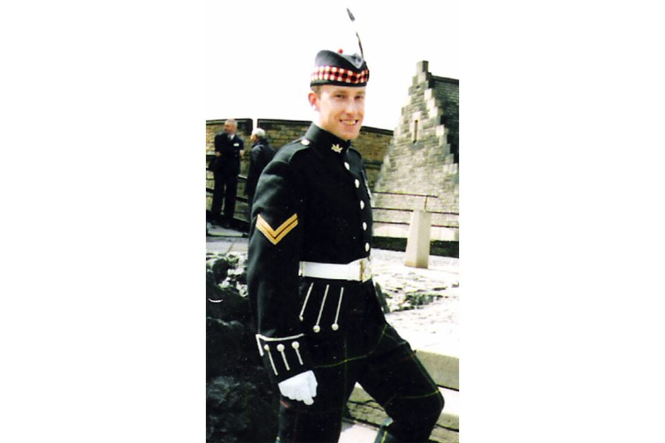 Sergeant Jonathan Mathews of The Highlanders, 4th Battalion, The Royal Regiment of Scotland (All rights reserved.)