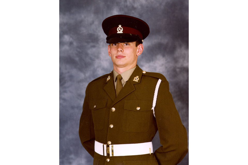 Lance Corporal Kenneth Michael Rowe, Royal Army Veterinary Corps (All rights reserved.)