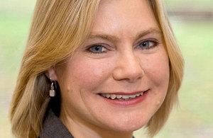Secretary of State for International Development, Justine Greening MP