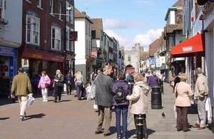 Canterbury high street