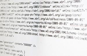 iXBRL computer code