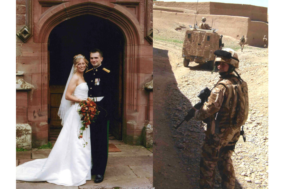 Corporal Sarah Bryant and husband Carl (All rights reserved.)