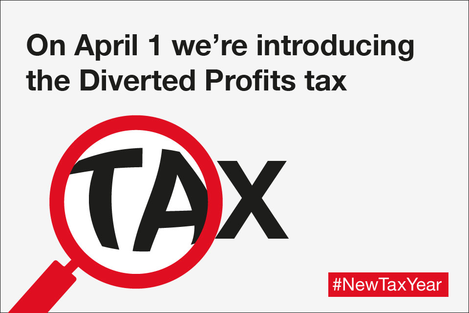 On April 1 we're introducing the Diverted Profits tax.