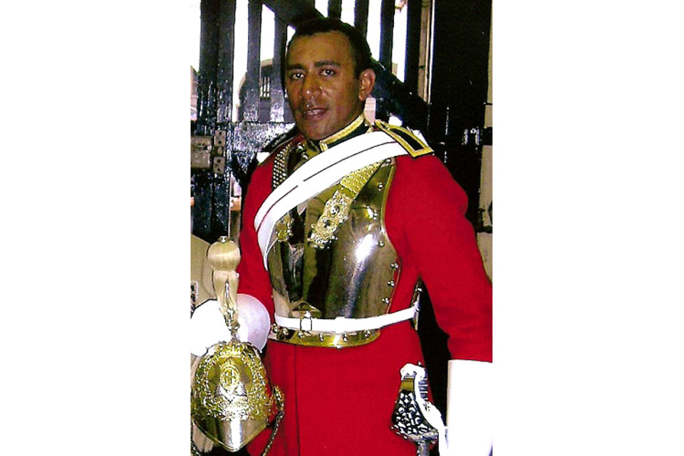 Trooper Ratu Babakobau, Household Cavalry Regiment (All rights reserved.)