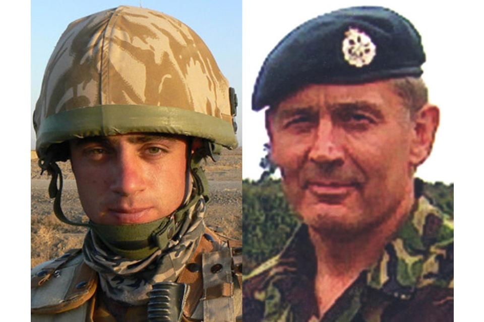 Senior Aircraftman Graham Livingstone and Senior Aircraftman Gary Thompson (All rights reserved.)