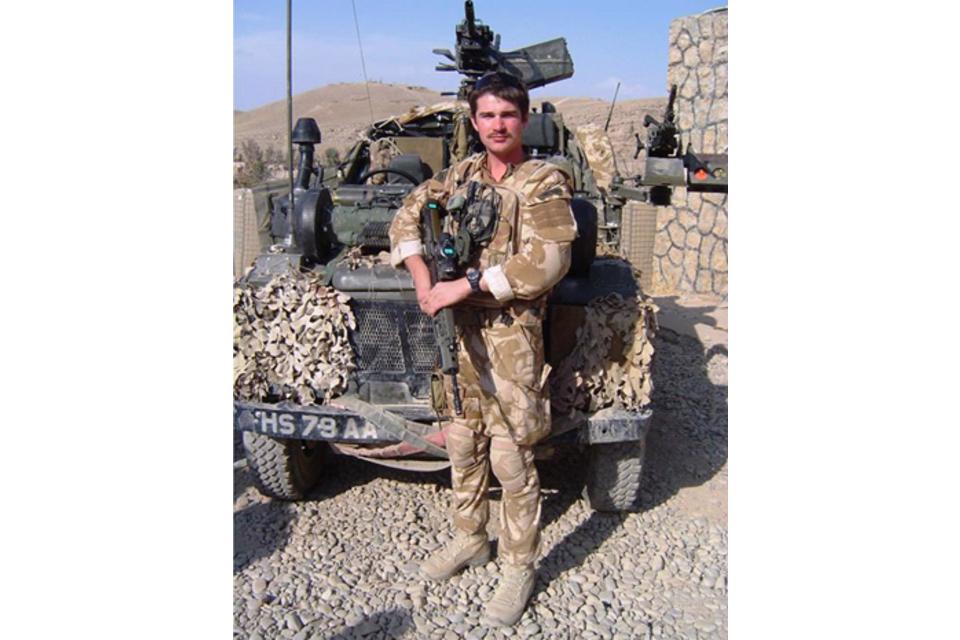 Lieutenant John Thornton and Marine David Marsh killed in ...