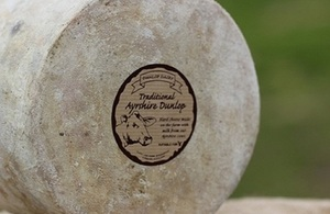 Traditional Ayrshire Dunlop cheese