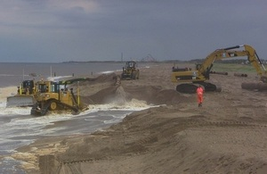 Lincs shore - Wolla Bank: RFCC members will be able to deliver projects for communities at risk
