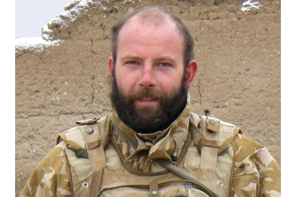Corporal Damian Mulvihill (All rights reserved.)