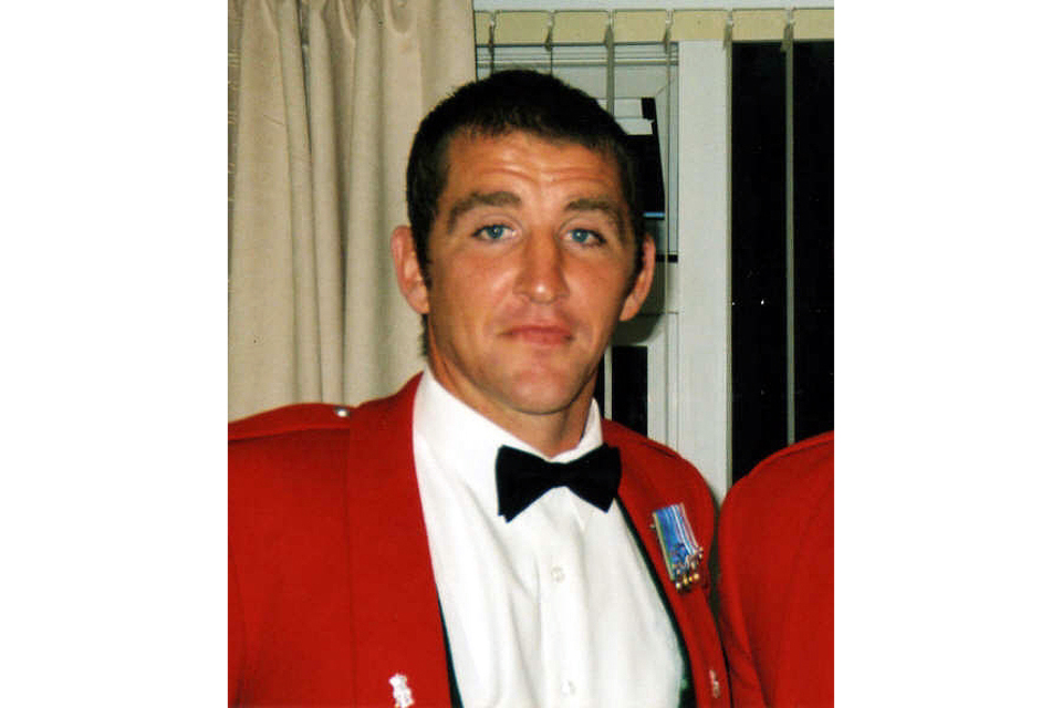 Sergeant Lee Johnson, 2nd Battalion The Yorkshire Regiment (All rights reserved.)