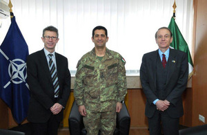 Top Ministry of Defence official visits Kosovo