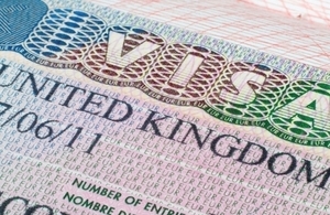 Changes to visa process for applicants to the UK for more than 6 months