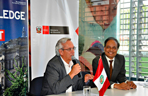 Peru and the United Kingdom: partners in education
