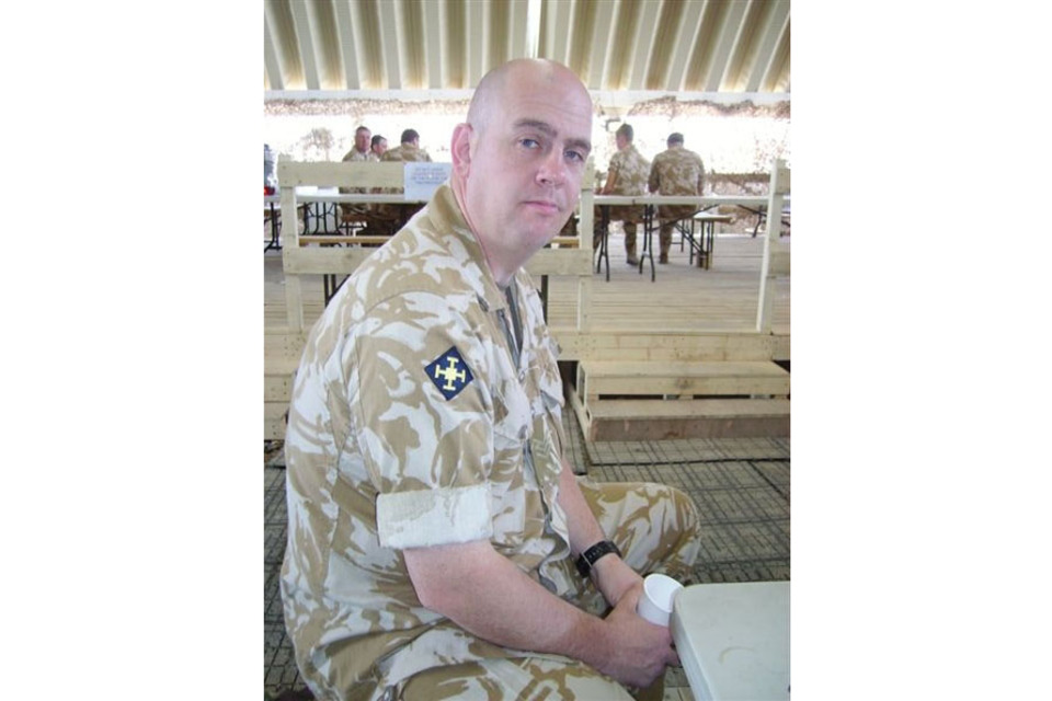 Colour Sergeant Phillip Newman (All rights reserved.)