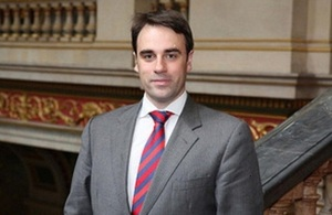 Mr Ruairí O'Connell, Her Majesty's Ambassador to the Republic of Kosovo