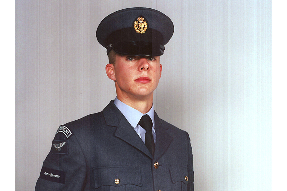 Leading Aircraftman Martin Beard (All rights reserved.)