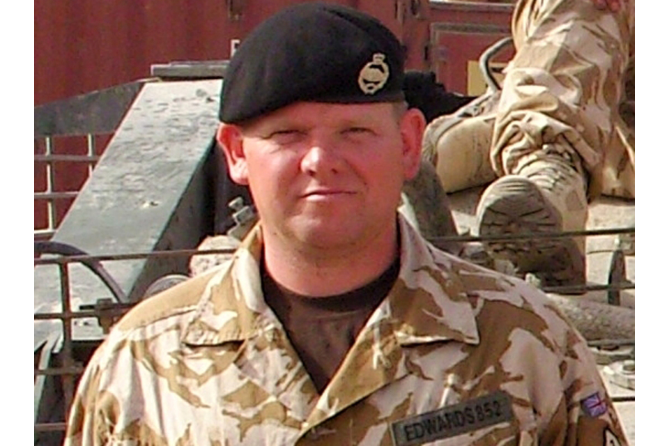 Corporal Steve Edwards (All rights reserved.)