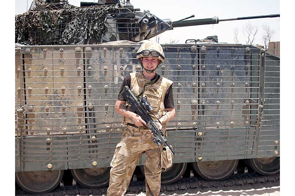 Private James (Jamie) Kerr, The Black Watch, 3rd Battalion The Royal Regiment of Scotland (All rights reserved.)
