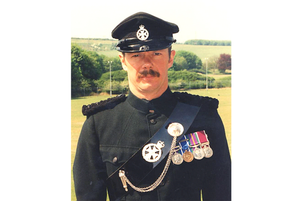 Major Paul Harding (All rights reserved.)