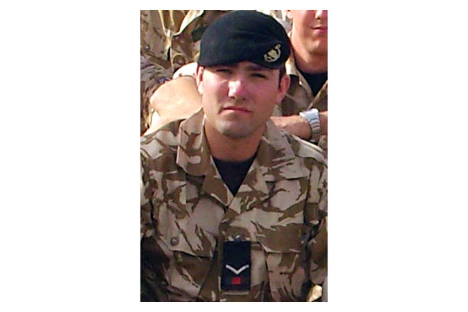Lance Corporal James Cartwright (All rights reserved.)