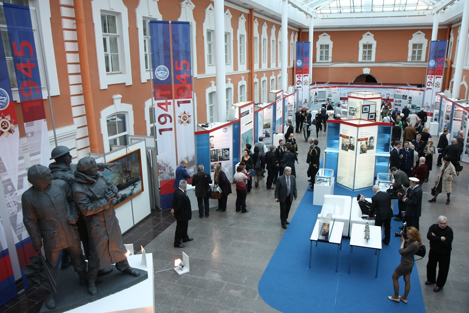 Arctic Convoys exhibition opening - general view