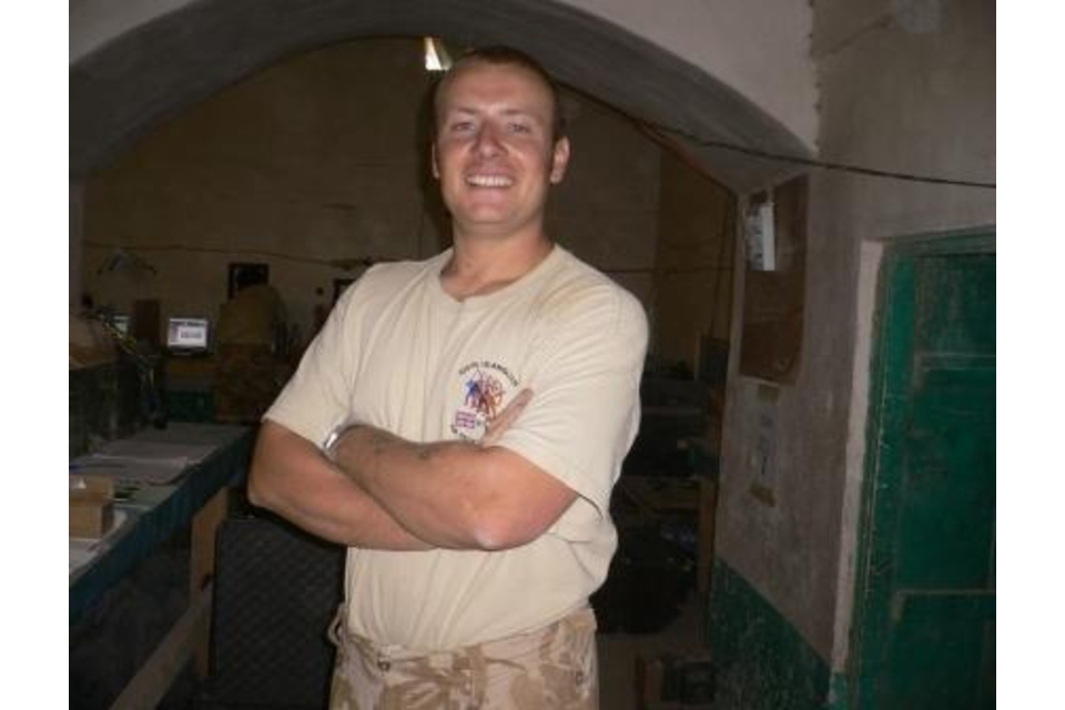 Corporal  Darren Bonner (All rights reserved.)