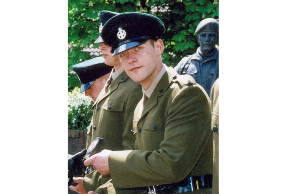 Corporal Jeremy Brookes (All rights reserved.)