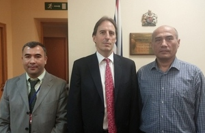 Uzbek officials participate in an Election Assessment Mission in the UK