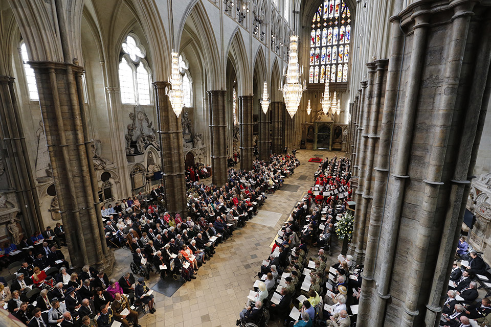 VE Day 70 Thanksgiving Service at Westminster Abbey