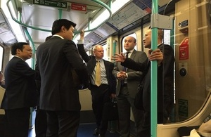 Vietnamese senior urban rail stakeholders are visiting the UK to learn the latter's experience of developing major infrastructure projects using the Public-Private Partnership model