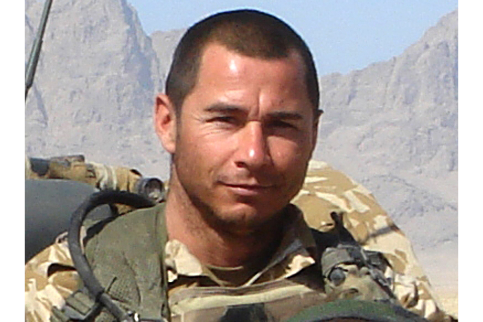 WO2 Michael 'Mick' Smith (All rights reserved.)