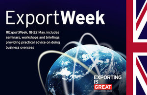 Export Week banner