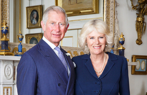 TRH The Prince of Wales and The Duchess of Cornwall